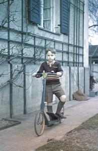 Kindheitsbild Elmar Gruber