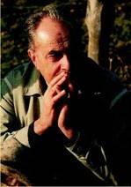 Elmar Gruber in den Bergen. Er mochte die Stille der Alpen. Am haeufigsten war er am Wank bei Garmisch