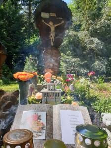 Das Grab an Elmar Grubers Geburtstag - 24.05.2020