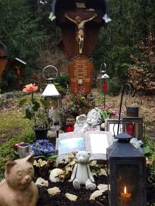 Das Grab am 19. März 2017