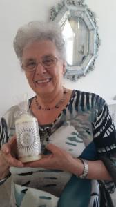 Kerzen sind ihre Leidenschaft - Irmgard Robisch